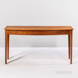 Thomas Moser Bow-front Console