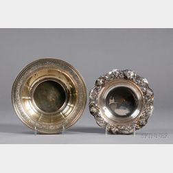 Two American Sterling Fruit Bowls