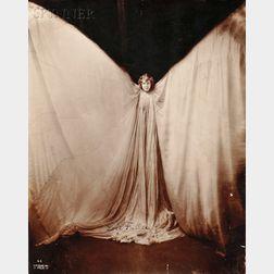 Benjamin Joseph Falk (American, 1853-1925)      Two Works: Portrait of Loïe Fuller as a Butterfly