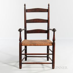 """Shaker """"No. 1"""" Production Child's Armchair"""