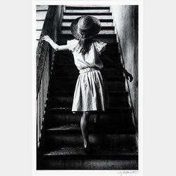 George Krause (American, b. 1937)      Stairs, Columbia, S.C.