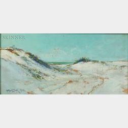 Arthur Vidal Diehl (American, 1870-1929)    Sand Dunes
