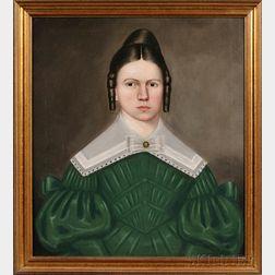 Erastus Salisbury Field (American, 1805-1900)      Portrait of Harriet Henderson Hubbard