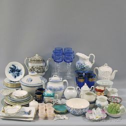 Large Assorted Lot of Ceramics, Glass, and Decorative Table Items