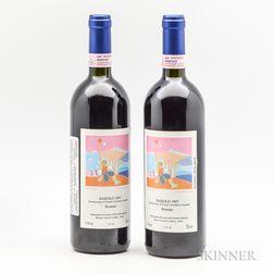 Roberto Voerzio Barolo Brunate 1997, 2 bottles