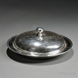 Black, Starr & Frost Sterling Silver New York Yacht Club Trophy Covered Entree Dish