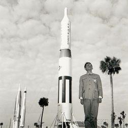 Tseng Kwong Chi (American, 1950-1990)      Cape Canaveral, Florida