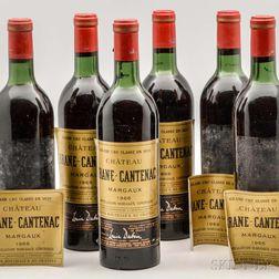 Chateau Brane Cantenac 1966, 10 bottles