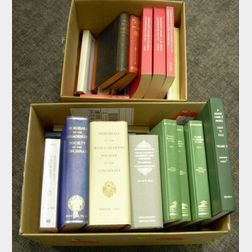 Approximately Fifty-two Massachusetts and Maine Historical and Genealogical Books