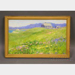 Eva Belle Adams Landscape
