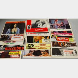 Ninety-seven 1960s U.S. Movie Lobby Cards