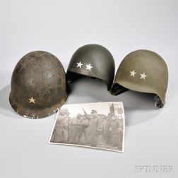Two Helmets from General Harlan N. Hartness