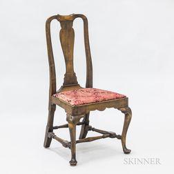 Queen Anne Maple Side Chair