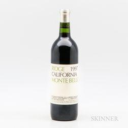 Ridge Monte Bello 1997, 1 bottle