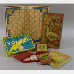 Six Assorted Late 19th and 20th Century Games