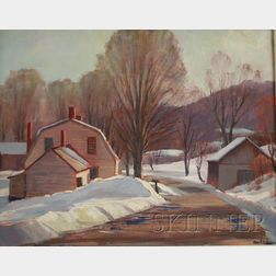 Nord Bowlen (American, 1909-2001)      The Old Homestead