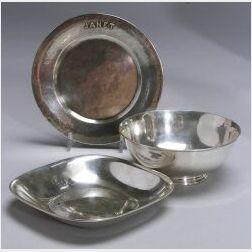 Three Lebolt, Arthur Stone and Stone Associates Sterling Silver Items