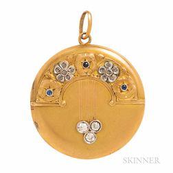 Edwardian Gold and Diamond Locket