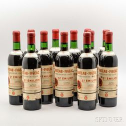 Chateau Figeac 1970, 12 bottles