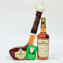Mixed Whiskey, 1 quart bottle 1 750ml bottle