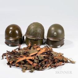 U.S. M1 Helmet, Liners, and Parts