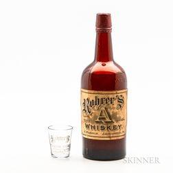 Rohrer's A Blended Whiskey, 1 quart bottle