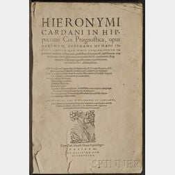 Cardanus, Hieronymus (1501-1576)