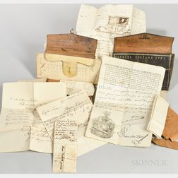 Sistare Family, Late 18th and Early 19th c. Archive of Documents and Wallets.