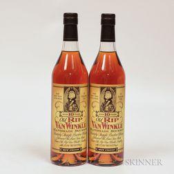 Old Rip Van Winkle 10 Years Old, 2 750ml bottles