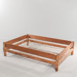 Maple and Pine Trundle Bed