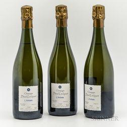David Leclapart LArtiste Blanc de Blancs Extra Brut NV, 3 bottles