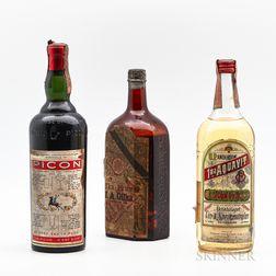 Mixed Spirits, 2 4/5 quart bottles1 29oz bottle
