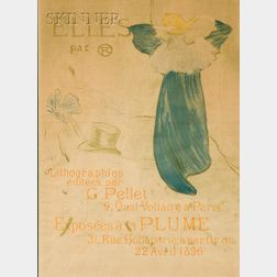 "Henri de Toulouse-Lautrec (French, 1864-1901)    Frontispiece Poster for ""Elles"""