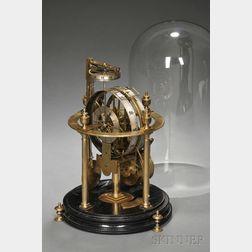 """""""Merlin""""-type Skeleton Clock"""
