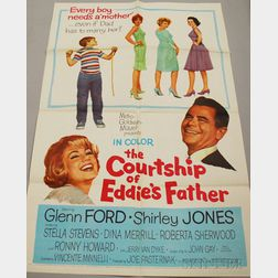 Kiss Them For Me   and The Courtship of Eddie's Father   Movie   Posters