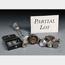 Collection of Bench Tools and Lathe Accessories