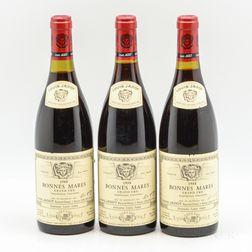 Louis Jadot Bonnes Mares 1988, 3 bottles