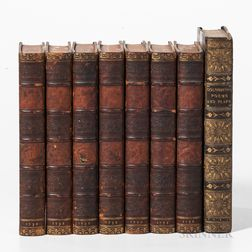Eight 18th/19th Century English Literary Works.