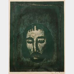 Georges Rouault (French, 1871-1958)      Suaire