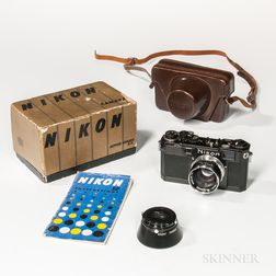 "Nikon S2 ""Chrome Dial"" Rangefinder Camera"