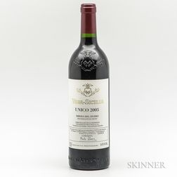Vega Sicilia Unico 2005, 1 bottle