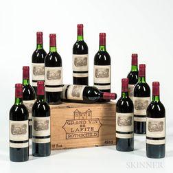Chateau Lafite Rothschild 1982, 12 bottles (owc)