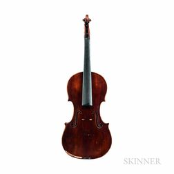 Violin, Viennese School, Possibly Anton Hofmann