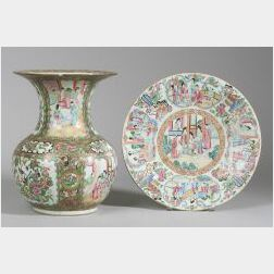 Two Chinese Export Porcelain Items
