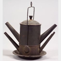 Tin Spout Lamp