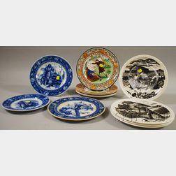 Twelve Assorted Wedgwood Ceramic Plates