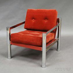 Milo Baughman-style Lounge Chair