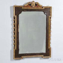 English Regency Gilt-gesso Mirror
