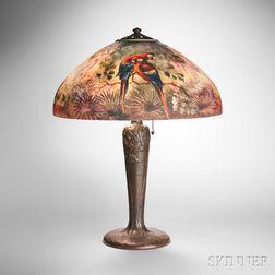Handel Scarlet Macaw Table Lamp