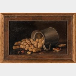 John Clinton Spencer (American, 1861-1919)    Still Life with Peanuts